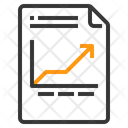 File Line Chart Graph Chart Icon
