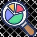 Pie Graph Analysis Graphical Analysis Data Analytics Icon