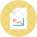 Analysis Statistics Financial Icon