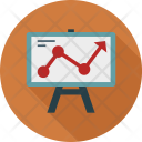 Analysis Chart Presentation Icon