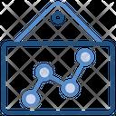 Data Analytics Bars Report Icon