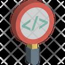 Analysis Code Review Development Icon
