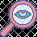 Analysis Focus Monitoring Icon