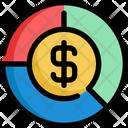 Circle Chart Money Icon