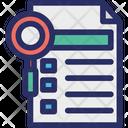 Analysis Checklist List Icon