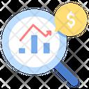 Imarket Analysis Analysis Market Analysis Icon