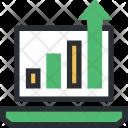 Analysis Analyzing Increasing Icon