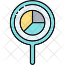 Analysis Analytics Magnyfying Glass Icon