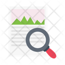 Analysis Research Document Icon