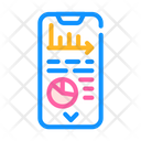 Data Analysis Mobile Icon