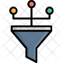 Analysis Conversion Marketing Filtering Method Icon
