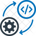 Analysis Cogwheel Data Analytics Icon