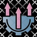 Analysis Strategy Growth Icon