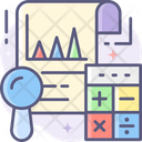 Analysis Account Analysis Business Analysis Icon