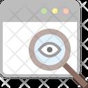 Analysis Audit Eye Icon