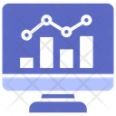 Analysis Network Futuristic Icon