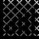 Analysis Bar Graph Icon