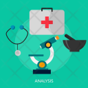 Analysis Analyst Medical Icon