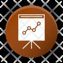 Analysis Analytics Finance Icon