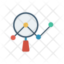 Analysis Search Analytic Icon
