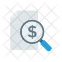 Analysis Search Tax Icon