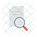 Analysis Search Files Icon