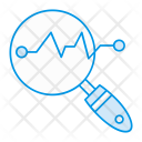Analysis Search Statistic Icon