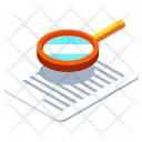 Analysis Research Paper Icon
