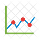 Statistical Graph Analysis Icon