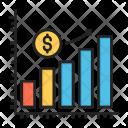 Analysis Dollar Earning Icon