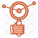 Report Search Analysis Icon
