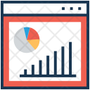 Analysis Graph Online Icon