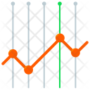 Analysis Lines Chart Icon