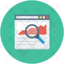 Search Graph Infographics Icon