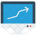 Graph Growth Analysis Icon