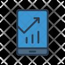 Analysis Mobile Graph Icon