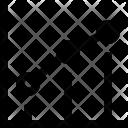 Profit Bar Graph Icon