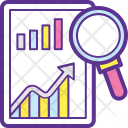 Market Research Analysis Icon