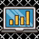 Growth Traffic Analysis Icon