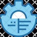 Analysis Process Optimization Icon