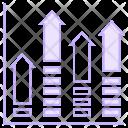 Growth Chart Statistics Icon