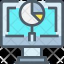 Analysis Laptop Device Icon