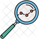 Search Charts Analysis Icon