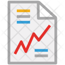 Analysis Document Graph Icon