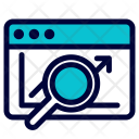 Analytic Data Search Icon