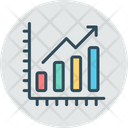 Statistics Growth Analysis Icon