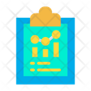 Analysis Clipboard Icon