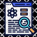 Analysis Data Icon