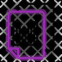 Analysis Data Data File Icon
