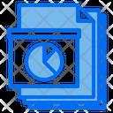Report Files Paper Icon